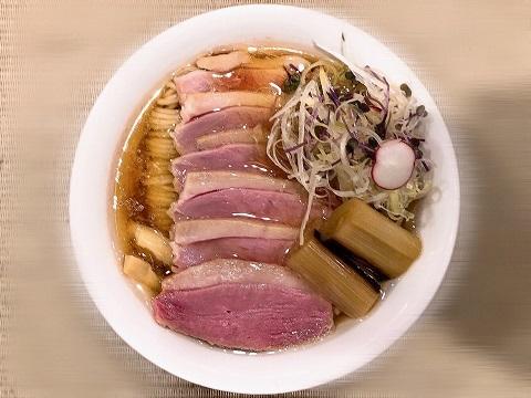 鴨コンフィ麺4
