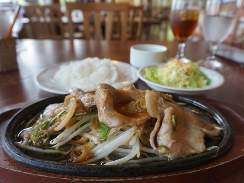 3県産豚肉の生姜焼き
