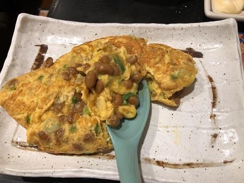 納豆オムレツ2