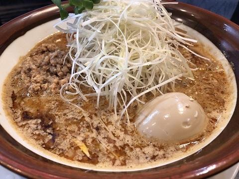 白胡麻味噌担々麺2
