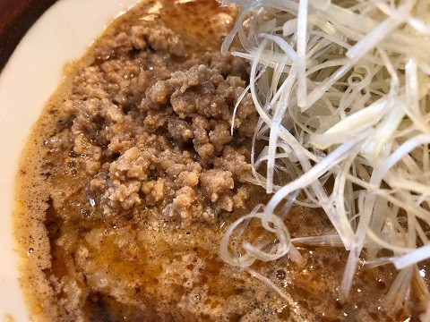 白胡麻味噌担々麺3
