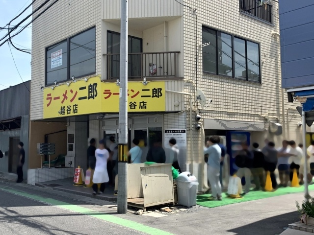 ラーメン二郎 越谷店 (4)