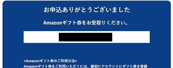 SBI損保紹介 Amazonギフトコード
