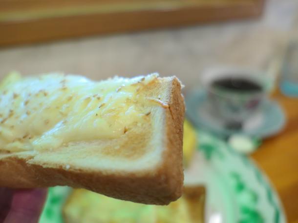 すりごまチーズトースト
