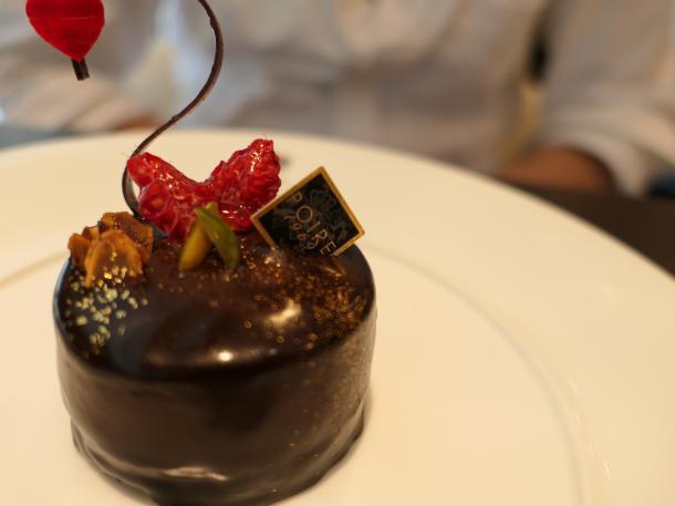 ピスタチオとチョコレート