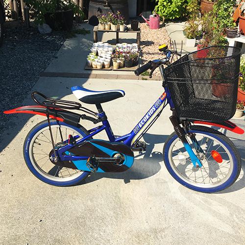 おさがりの子供自転車大改造 DIY!④