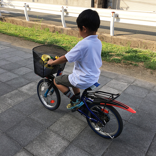 おさがりの子供自転車大改造 DIY!⑥