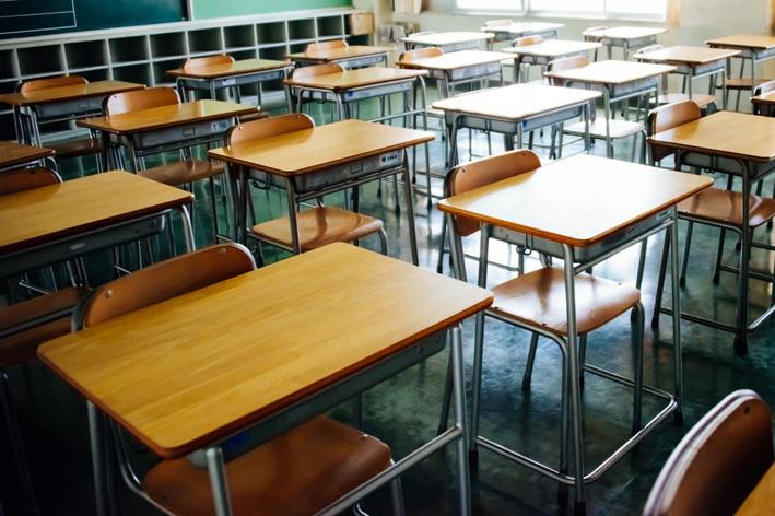 人のいない教室