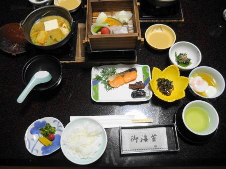 吉弥の朝食
