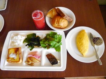 朝食ビュッフェ マー