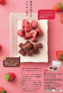 ANA春いちごチョコレートBOX