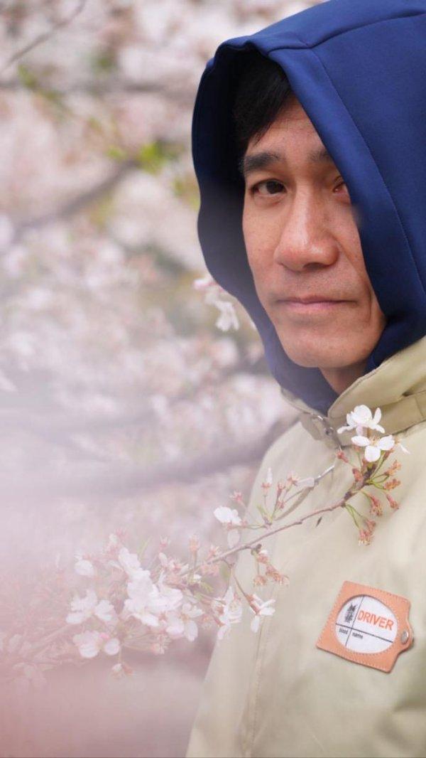 トニーさん@お花見2