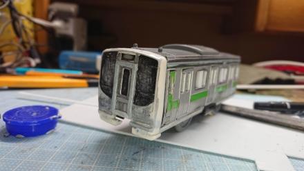 改造プラレール STA721系
