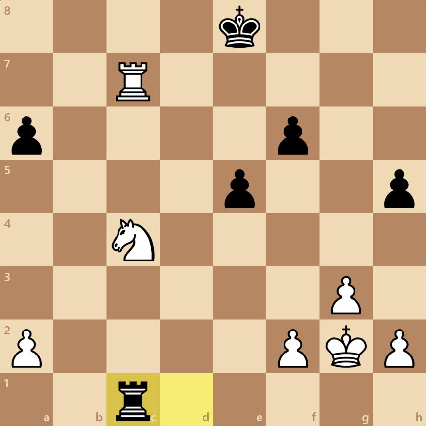 Nd6+とすればルークを素抜きできる