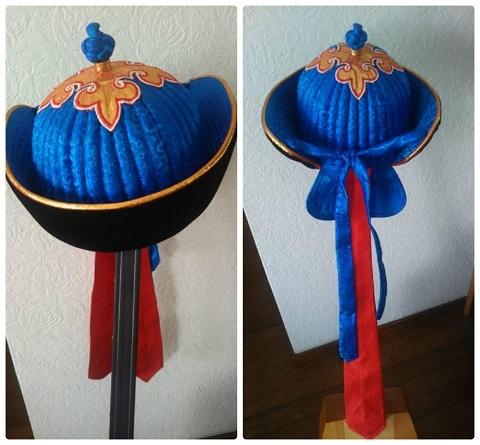 平成31年4月モンゴルの帽子