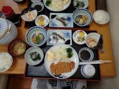 23旅館吉野の夕食
