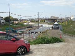 17下流の用水路改修