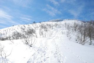 蘇武岳_雪山