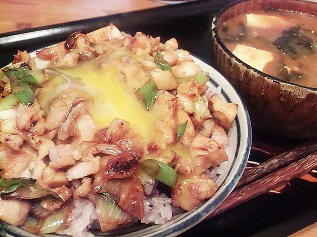 炒り親子丼