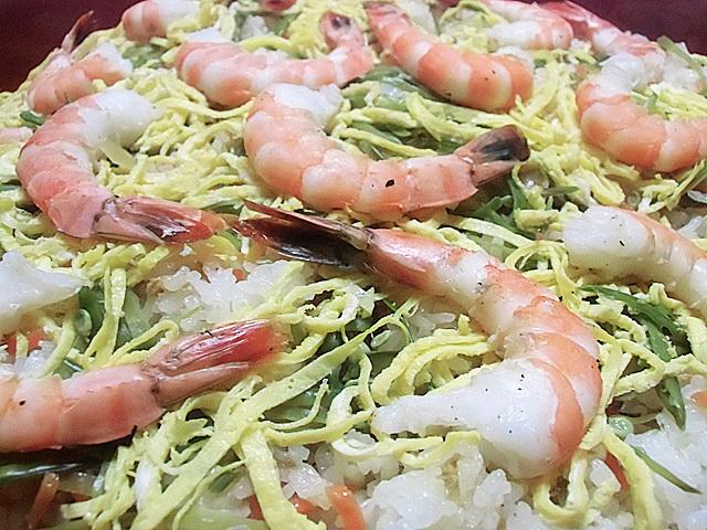 焼き海老寿司
