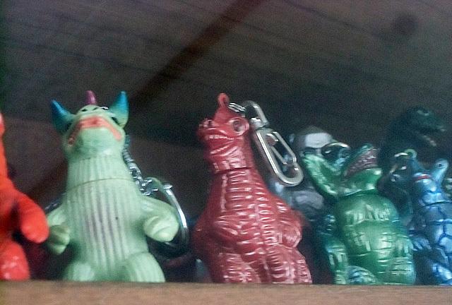 かわいいマスコット怪獣たち