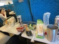 新幹線での宴