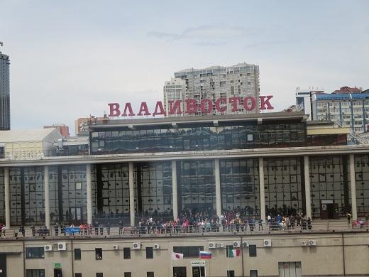 ウラジオストク港
