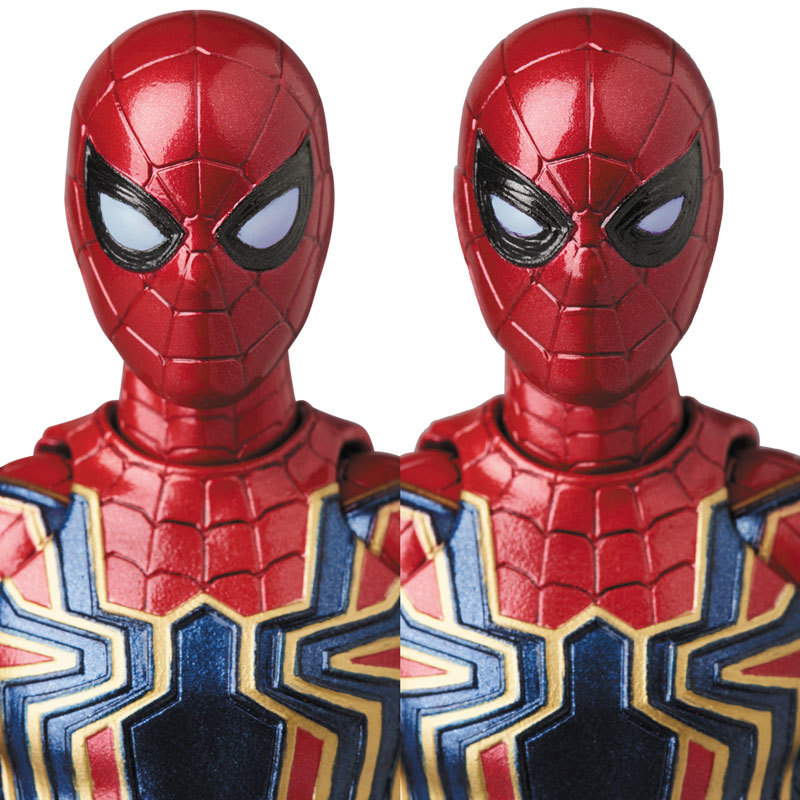 マフェックス MAFEX IRON SPIDERFIGURE-040184_07