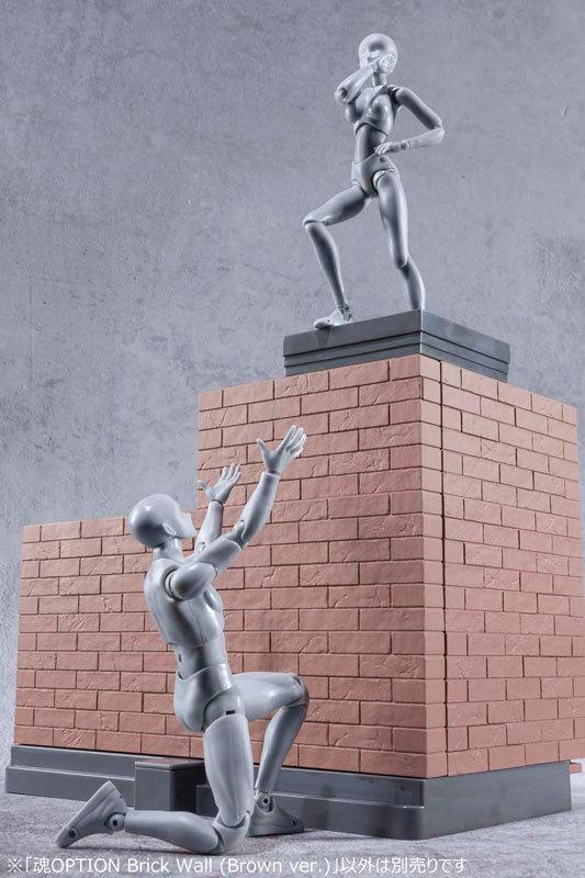魂OPTION Brick Wall (Brown FIGURE-044599_07