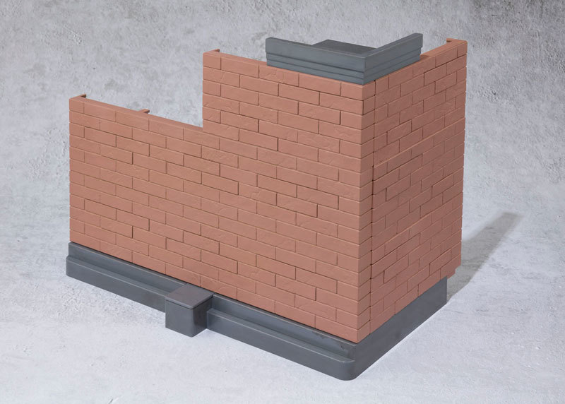 魂OPTION Brick Wall (Brown FIGURE-044599_02
