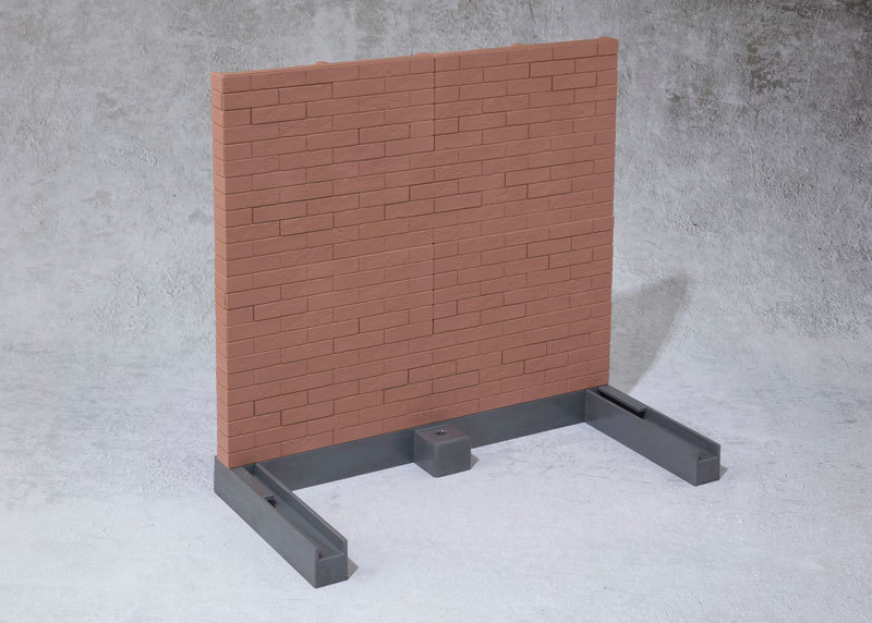 魂OPTION Brick Wall (Brown FIGURE-044599_03