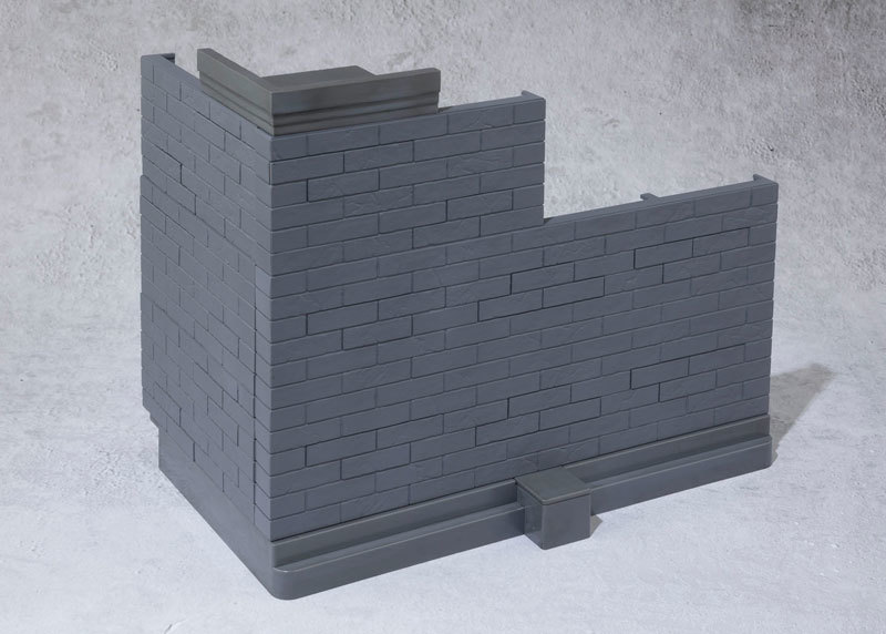 魂OPTION Brick Wall (GrayFIGURE-044598_01