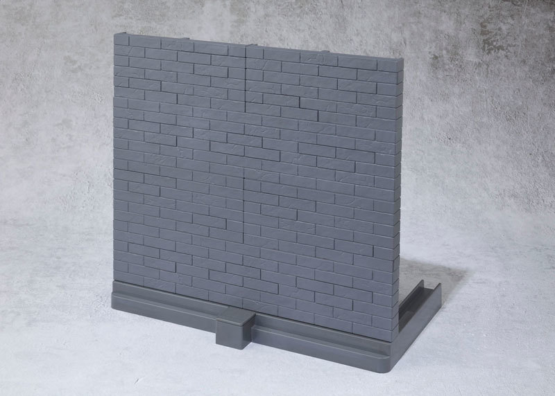 魂OPTION Brick Wall (GrayFIGURE-044598_02