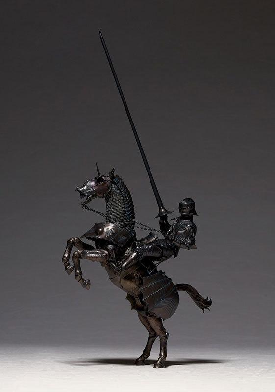 タケヤ式自在置物 15世紀ゴチック式エクエストリアンアーマー ブロンズFIGURE-045990_01