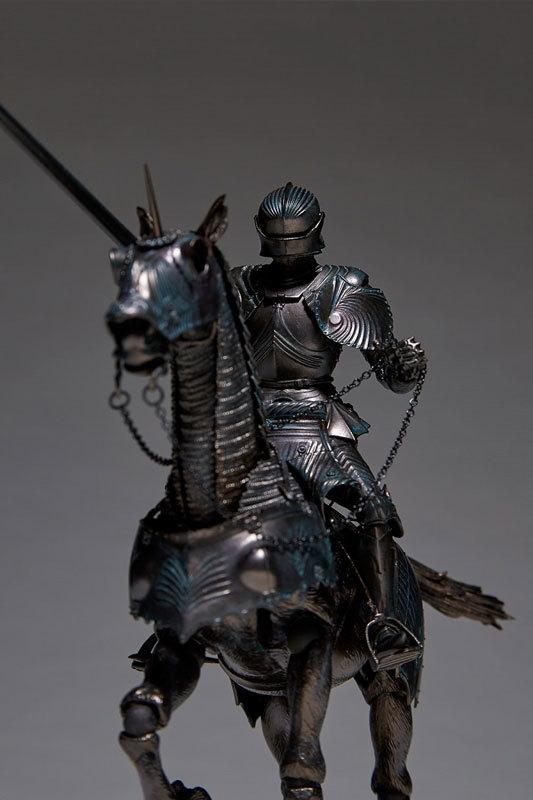 タケヤ式自在置物 15世紀ゴチック式エクエストリアンアーマー ブロンズFIGURE-045990_04