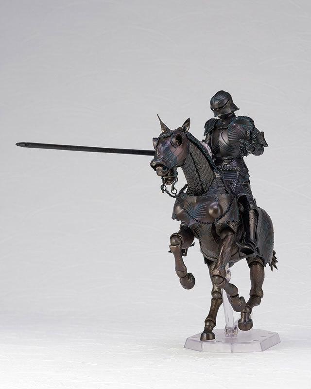 タケヤ式自在置物 15世紀ゴチック式エクエストリアンアーマー ブロンズFIGURE-045990_05