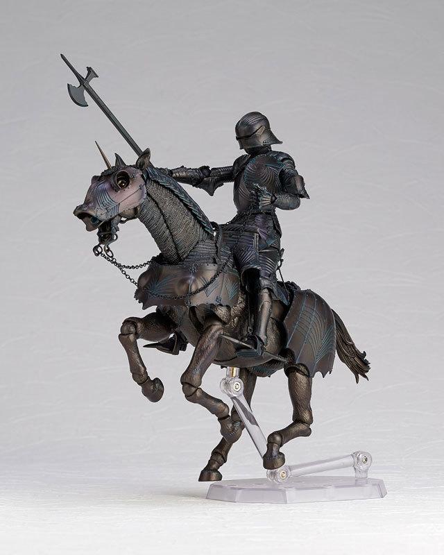 タケヤ式自在置物 15世紀ゴチック式エクエストリアンアーマー ブロンズFIGURE-045990_06