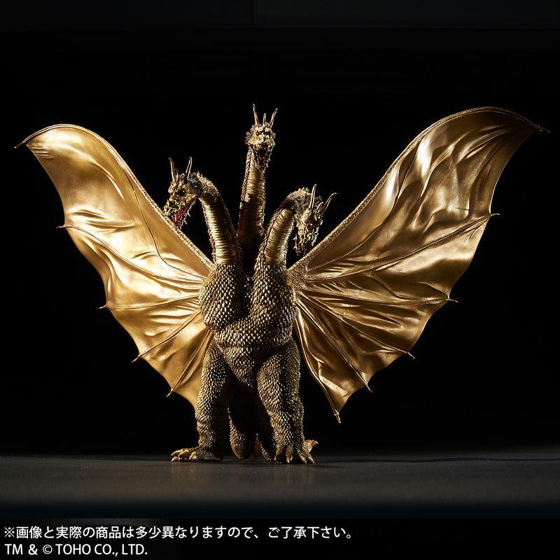 東宝大怪獣シリーズ 三大怪獣 地球最大の決戦 キングギドラ(1964) 完成品フィギュアFIGURE-045832_01