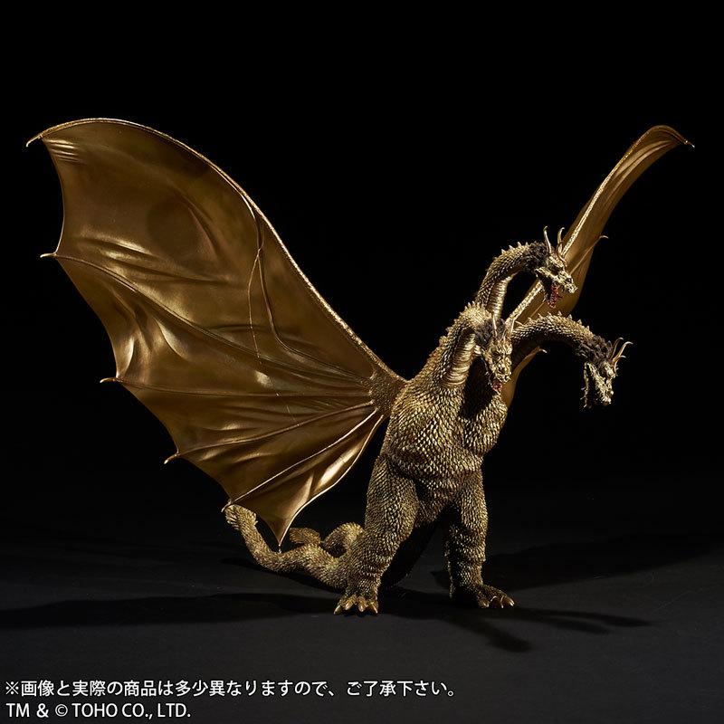 東宝大怪獣シリーズ 三大怪獣 地球最大の決戦 キングギドラ(1964) 完成品フィギュアFIGURE-045832_02