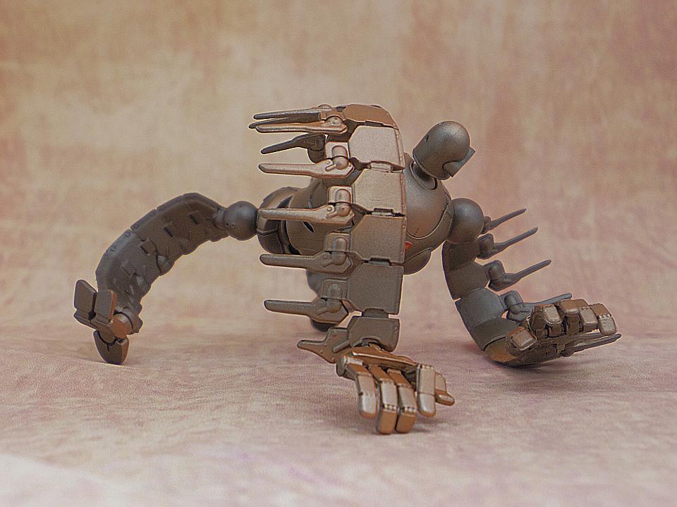想造ガレリア ロボット兵4