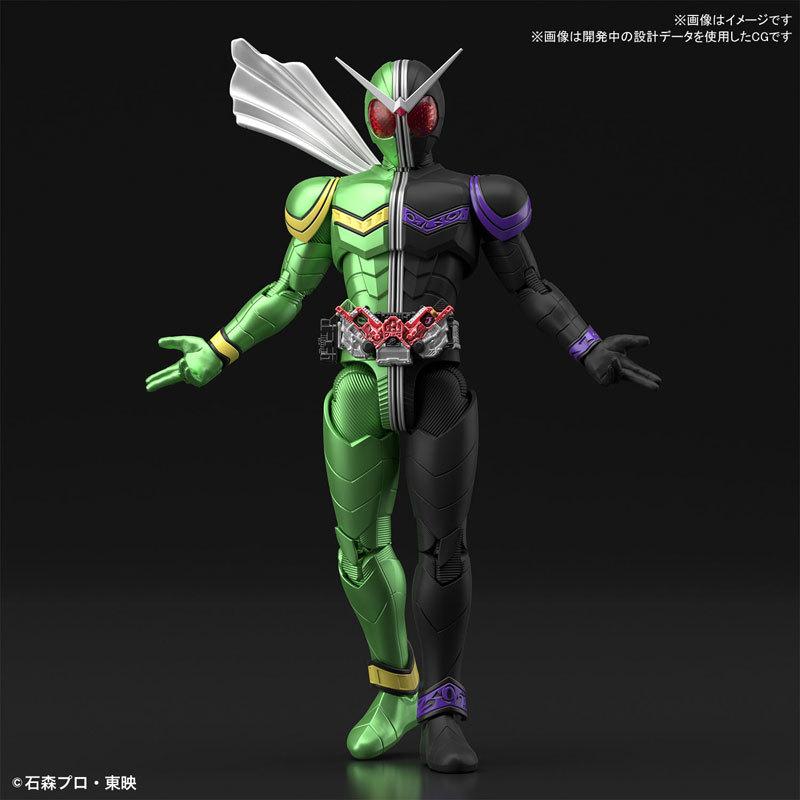 Figure-rise Standard 仮面ライダーW サイクロンジョーカー プラモデルFIGURE-049280_01