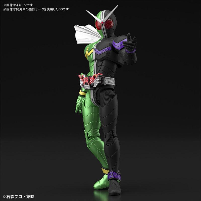Figure-rise Standard 仮面ライダーW サイクロンジョーカー プラモデルFIGURE-049280_02