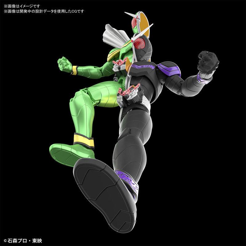 Figure-rise Standard 仮面ライダーW サイクロンジョーカー プラモデルFIGURE-049280_03