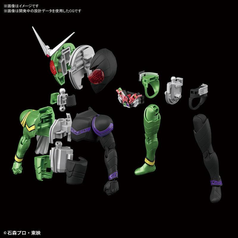 Figure-rise Standard 仮面ライダーW サイクロンジョーカー プラモデルFIGURE-049280_04