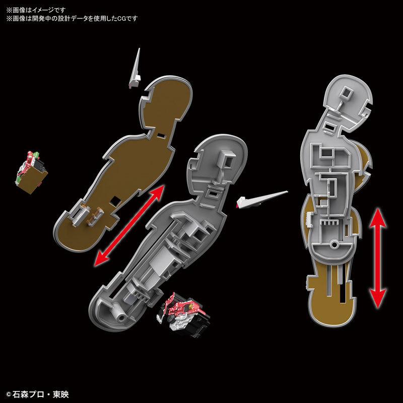 Figure-rise Standard 仮面ライダーW サイクロンジョーカー プラモデルFIGURE-049280_06