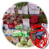 韓国 加佐駅 モレネ市場