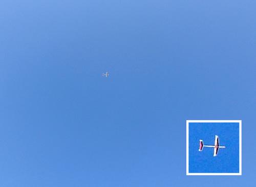カタナX3、飛んでるトコ。