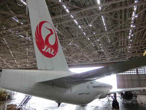 JAL工場見学! その11。