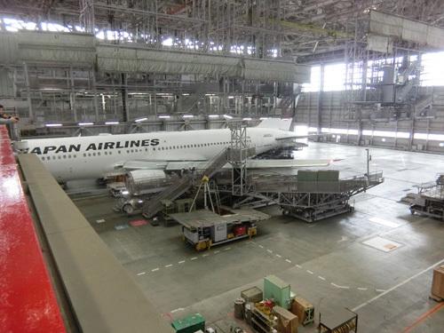 JAL工場見学! その10。