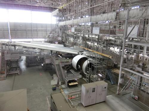 JAL工場見学! その9。